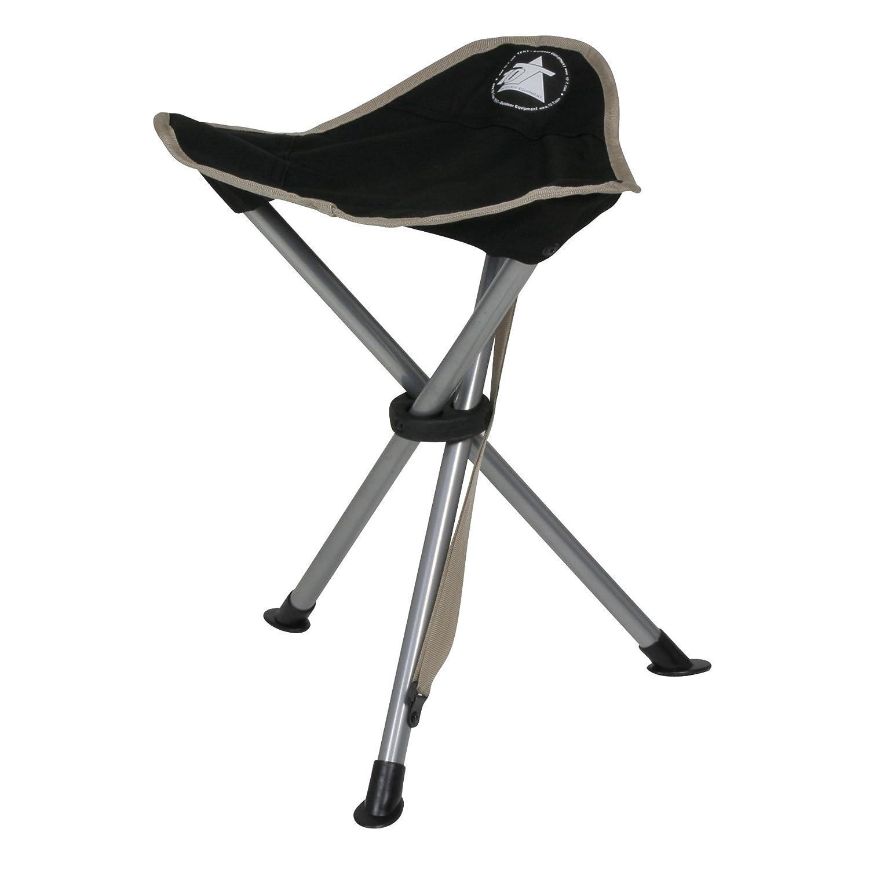 dreibeinhocker 3 bein hocker camping stuhl dreibein hocker 40cm sitzh he handliche 550g leicht. Black Bedroom Furniture Sets. Home Design Ideas
