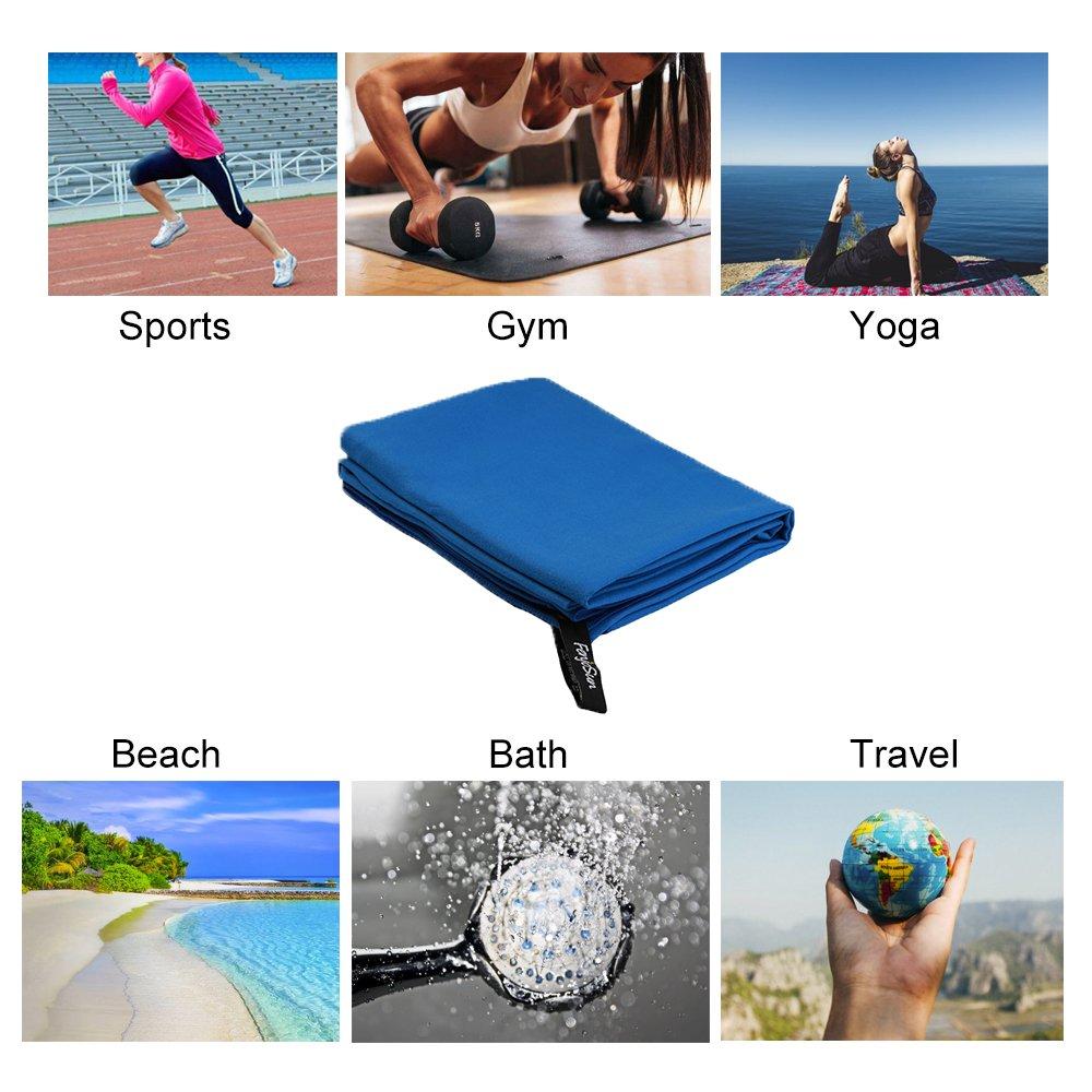 Opret Toalla de Microfibra, Deportiva Secado Rápido Super Absorbente Ideal para Deportes, Viajes, Playa: Amazon.es: Deportes y aire libre