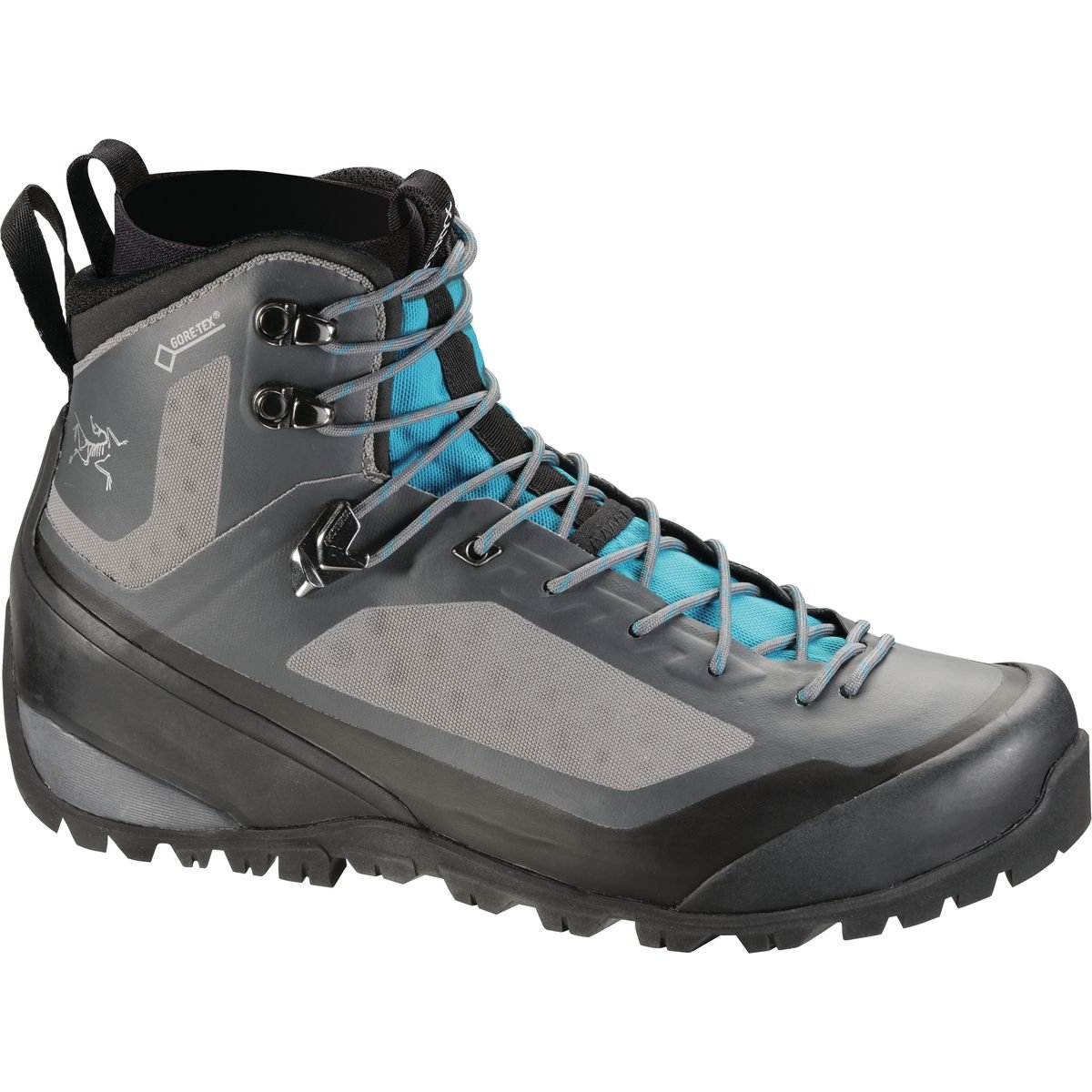 ARCTERYX Bora2 Mid Hiking Boot - Womens Boots 9 Light Graphite/Big Surf