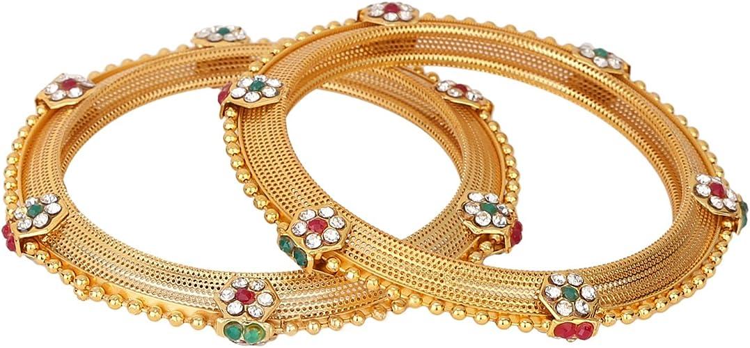 Amazon Com Efulgenz Indian Bangles Bollywood Traditional Ethnic