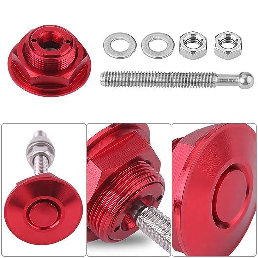 Motor de coche universal de aluminio Quick Latch Hoop Cierre de color rosa Lock Lock Apariencia Kit Accesorios para coche
