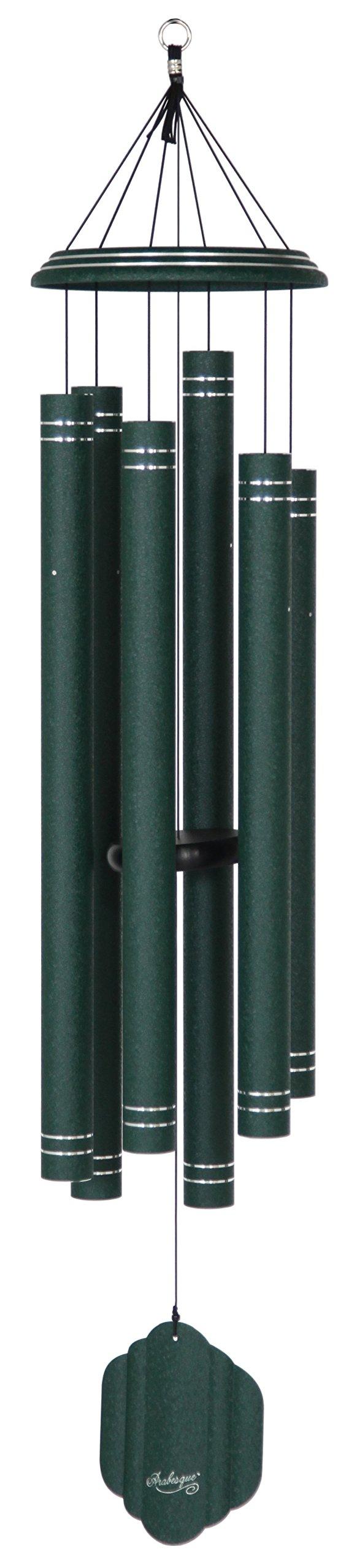Arabesque 59-inch Windchime, Emerald