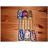Beer Can Fishing Bobber Set- Leinenkugel's & Miller- Christmas Stocking Stuffers New