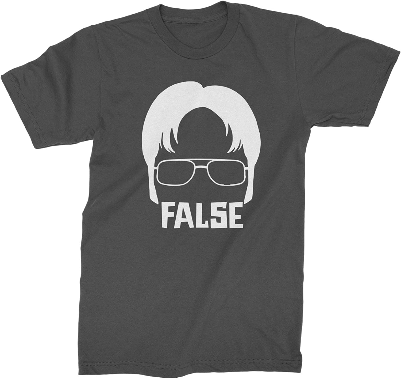 Expression Tees Dwight False Mens T-Shirt