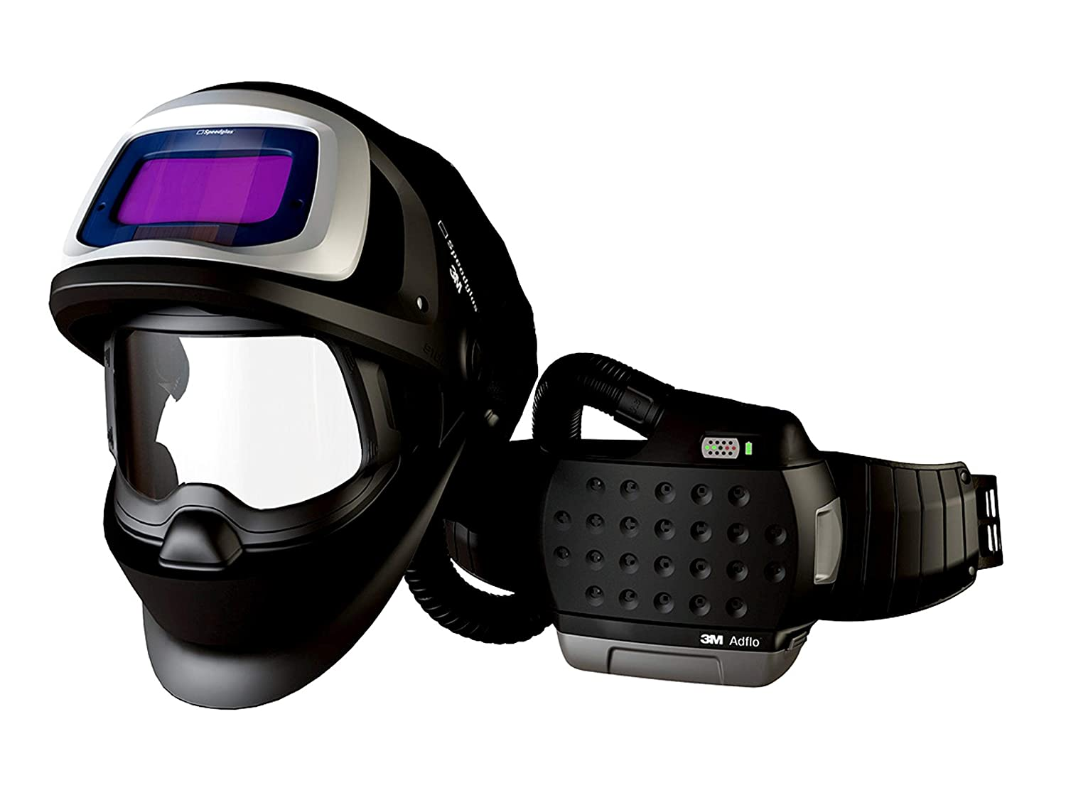 Image of Respirators 3M Adflo Powered Air Purifying Respirator He System with 3M Speedglas Welding Helmet 9100 Fx-Air, 36-1101-20Sw, 1 Ea/Case