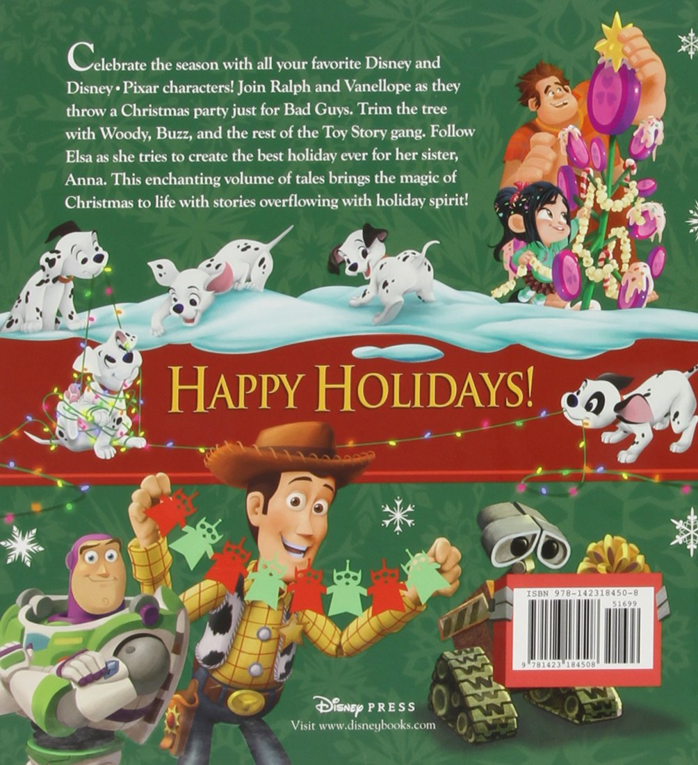The Christmas Story Book.Disney Christmas Storybook Collection Elle D Risco