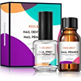 Modelones Professional Natural Nail Prep Dehydrate & Bond Primer, Nail Protein Bond, Superior Bonding Primer for Acrylic…