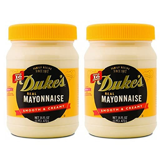 Duke's Real Mayonnaise Smooth & Creamy 2-16 fl oz Jars