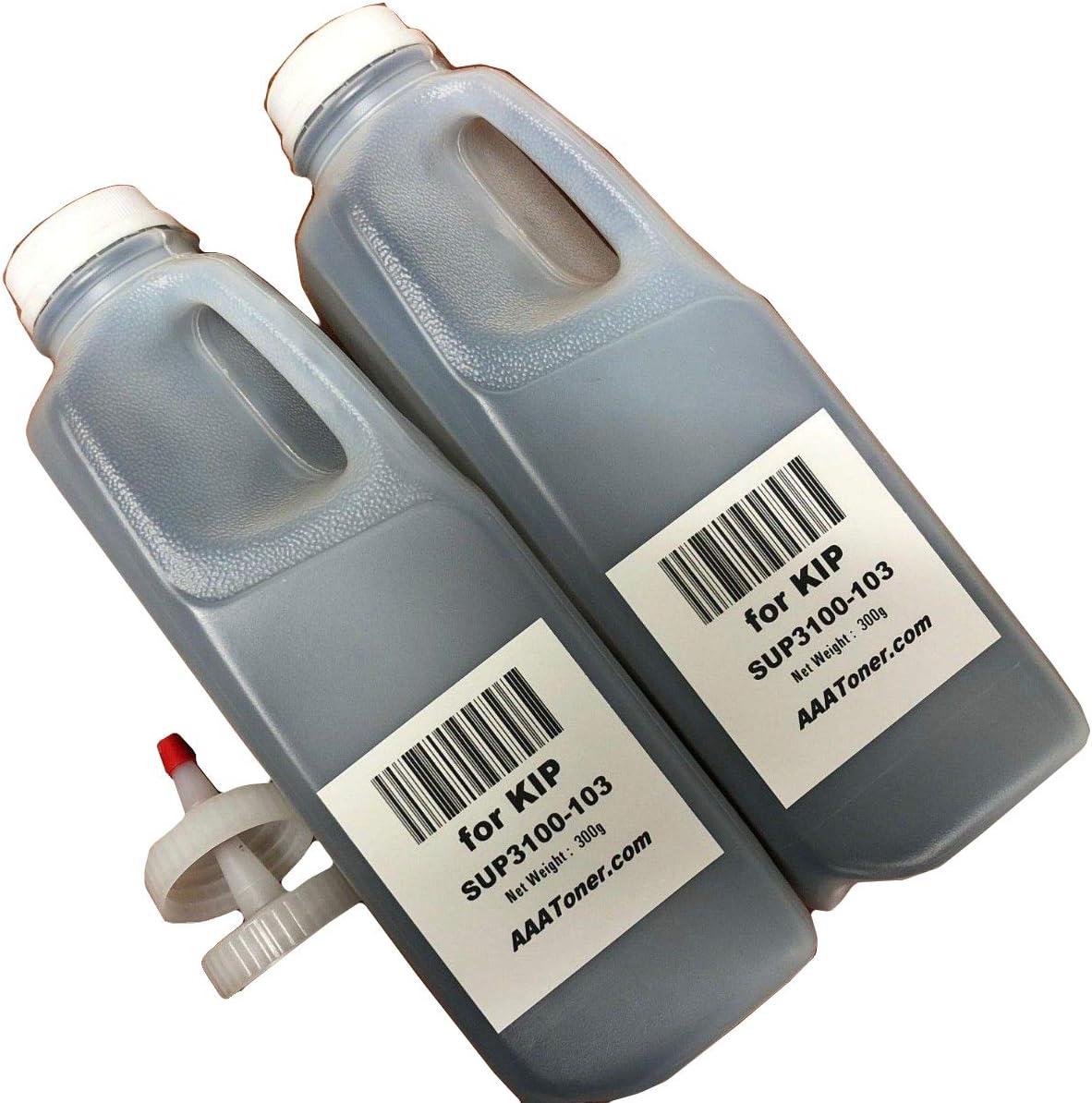 SUP7100-103 300g x 2 2 pk Toner Refill for use in KIP 7100 Toner KIP 7100