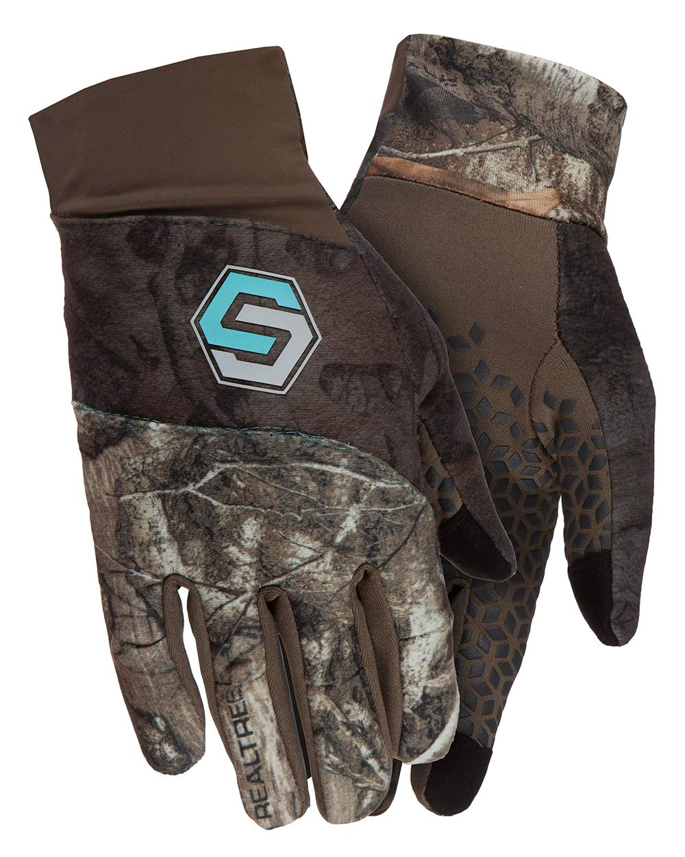 ScentLok Womens Mid Weight Glove (Realtree Edge, Large/X-Large) by ScentLok