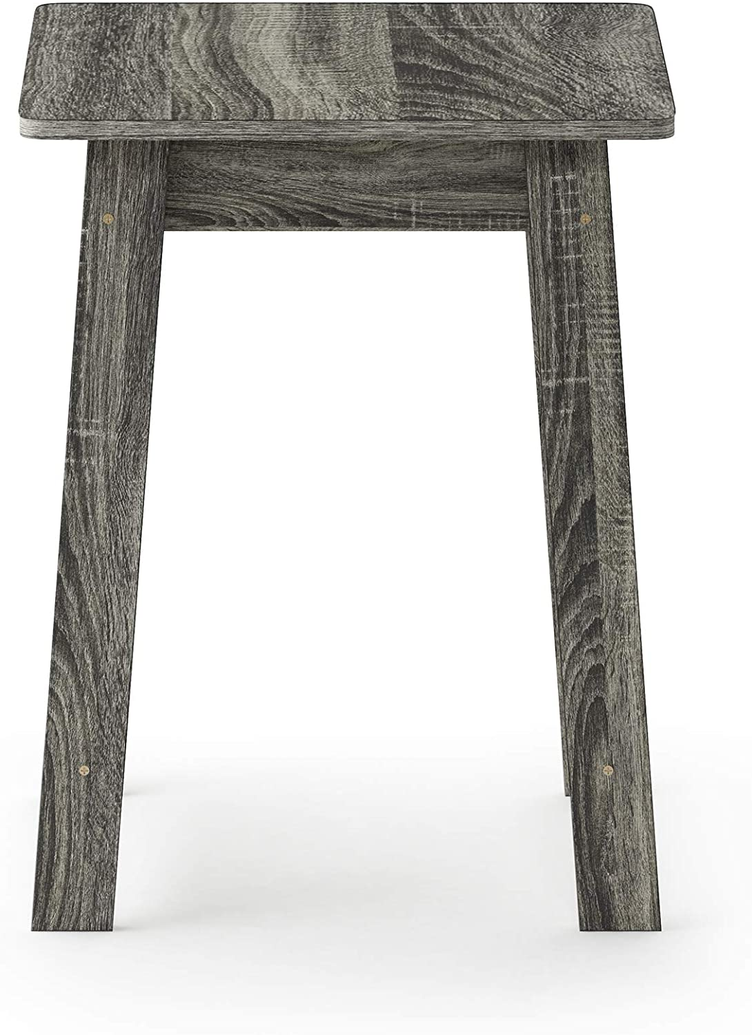 Furinno Beginning End Table, French Oak Grey