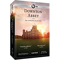 FidgetFidget Downton Abbey:The Complete Series Collection Season 1 2 3 4 5 6 (DVD 22-Disc Set