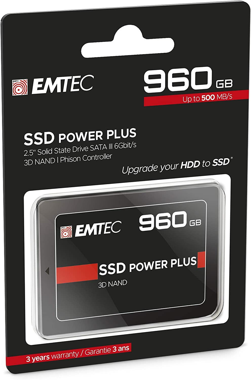 Emtec Internal SSD X150 960 GB: Amazon.es: Informática