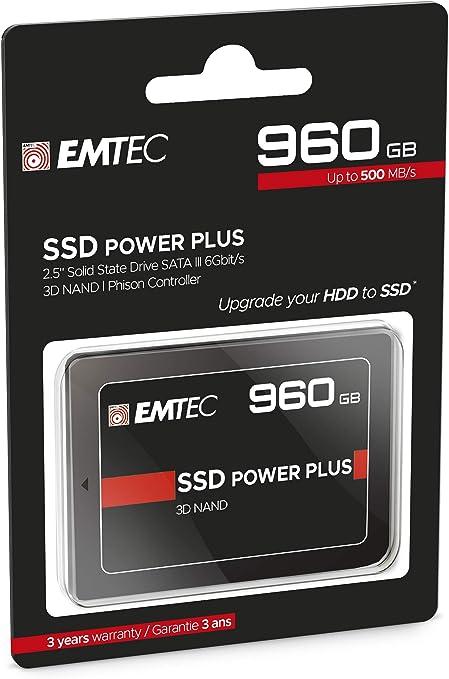 Emtec Internal SSD X150 960 GB: Amazon.es: Informática