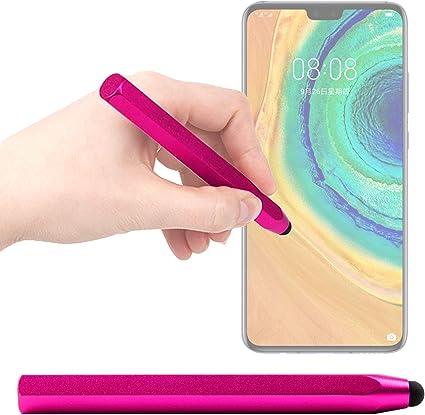 DURAGADGET Lápiz Stylus Rosa Compatible con Smartphone Huawei Mate ...