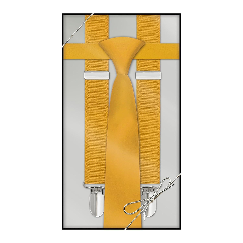 Suspender & Neck Tie Set