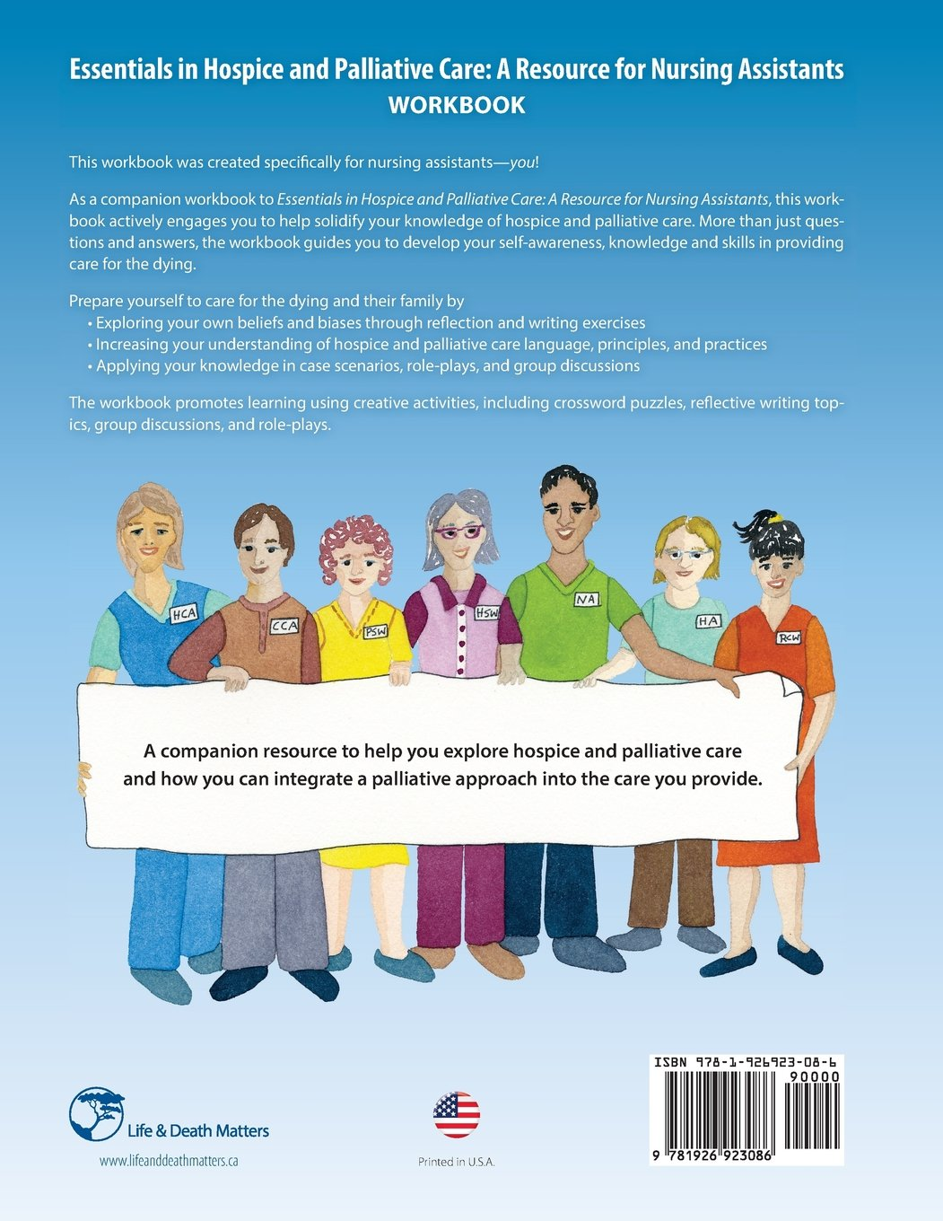 Essentials in Hospice and Palliative Care Workbook: A Resource for Nursing Assistants