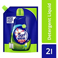 Surf Excel Top Load Matic Liquid Detergent Pouch - 2 L