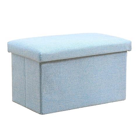 Admirable Amazon Com Zyn Storage Ottoman Clothes Storage Box Cotton Inzonedesignstudio Interior Chair Design Inzonedesignstudiocom