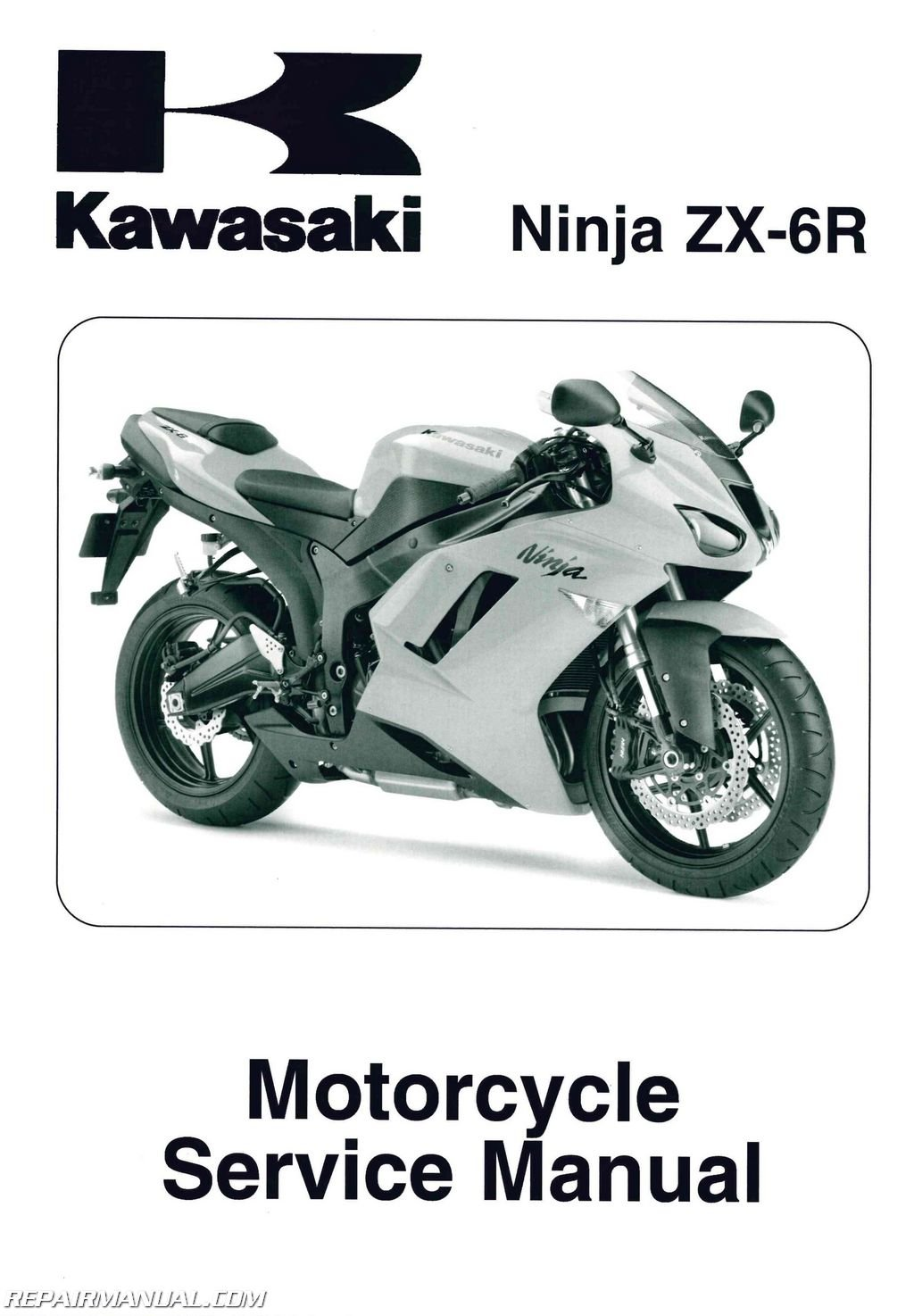 99924-1382-02 2007-2008 Kawasaki Ninja ZX-6R ZX600P Motorcycle Service  Manual: Manufacturer: Amazon.com: Books