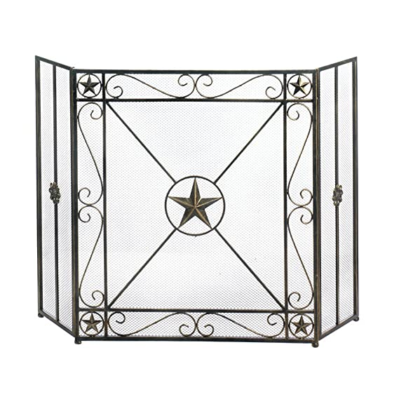 Fire Screen For Fireplace Decorative Antique Fireplace Screen Saver Amazon In Home Kitchen