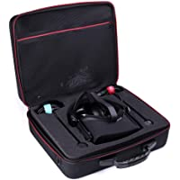 Hard Travel Case for Oculus Rift Touch Virtual Reality System PC Virtual Reality Headsets Accessories Carry Bag Protective Storage Box (Black)