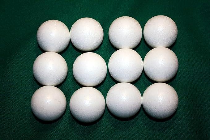 Set de 12 pelotas de corcho para futbolín (silenciosas): Amazon.es: Juguetes y juegos