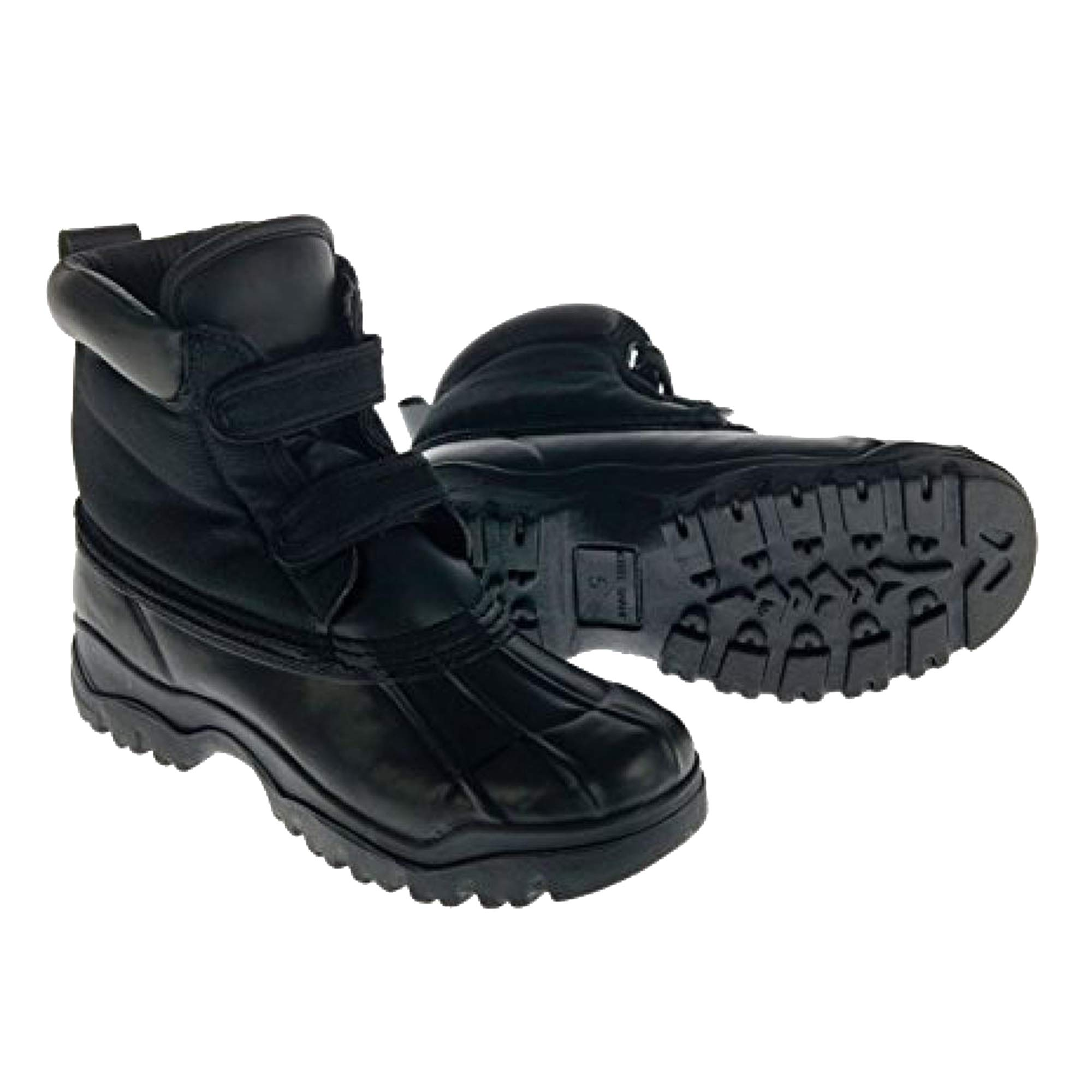 Dublin Childrens/Kids Yardmaster Touch Fastening Boots (Juniors 3) (Black)