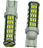 Cutequeen LED Car Lights Bulb White T15 1206 68-SMD 906 579 901 904 908 909 912 914 915 916 917 918 920 921 922 923 926 927 928 939 (pack of 2)