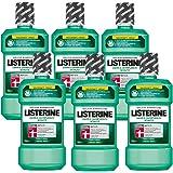 Listerine Zahn- und Zahnfleischschutz Antibakterielle Mundspülung (Schutz für Zähne und Zahnfleisch) 6er Pack (6 x 600 ml)