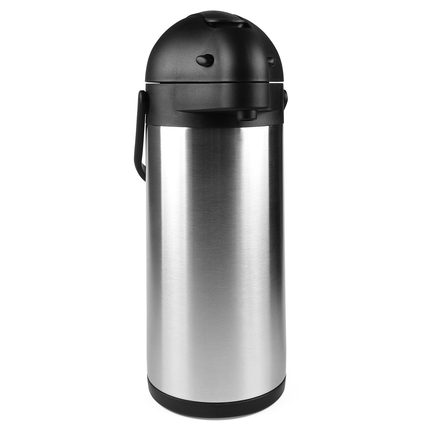102 Oz (3L) Airpot Thermal Carafe/Lever Action/Stainless Steel Thermos / 12 Hour Heat Retention / 24 Hour Cold Retention by Cresimo by Cresimo