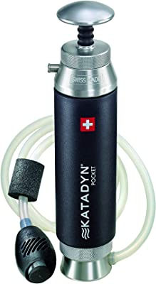 Katadyn Pocket Water Filter, Long Lasting for Personal