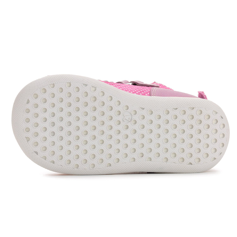Memo Mini 1JE Baby Girl' First Walker Orthopedic Leather Anti-Slip Sandal, 19 (4 Toddler) by Memo (Image #3)