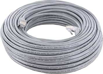 Belkin A3L791B30M-S - Cable de red Ethernet (30 m, CAT5, conectores