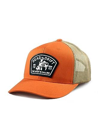 201d31cf Dead Drift Fly Fishing Hat Bucking Trout Orange Trucker Snapback Fly (One  Size, Orange/Cream) at Amazon Men's Clothing store: