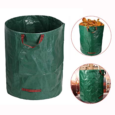 JUMKEET 1 Pack 80Gal Garden Waste Basura Bolsas | Bolsa De ...