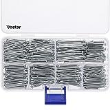 Vastar 600 Pieces Hardware Nails and Brad Nails