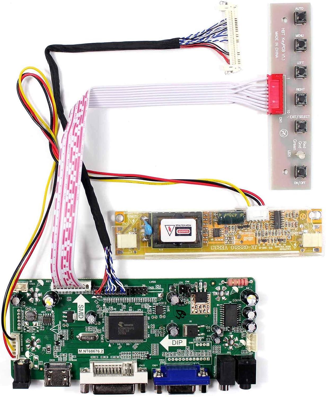 HDMI VGA LCD Controller Board For 18.5 in M185BGE M185XTN01.2 1366x768 LCD Panel