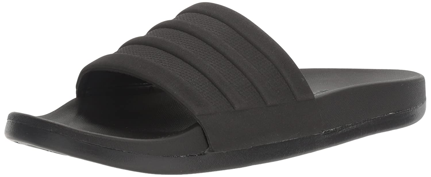 wholesale dealer 763a8 5309e Amazon.com  adidas Mens Adilette Comfort Slide Sandal Black, ((9 M US)   Sandals