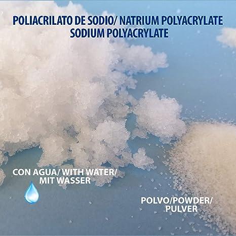 Poliacrilato de Sodio (1Kg): Amazon.es: Industria, empresas y ciencia