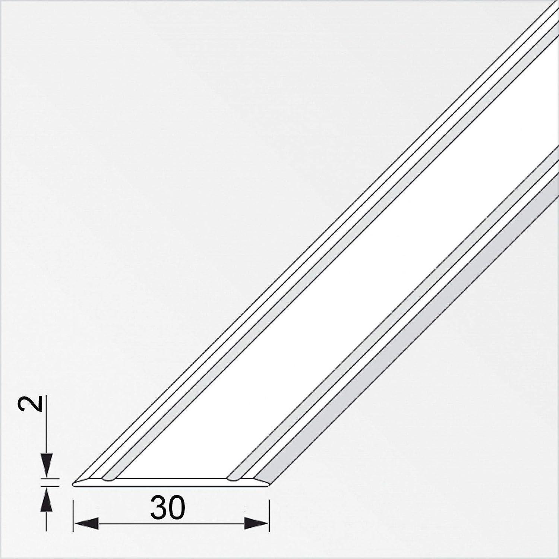 SOTECH 1 St/ück /Übergangsprofil Cross selbstklebend superflach Messing eloxiert /Übergangsschiene Breite 30 mm L/änge 100 cm Boden-Profil Ausgleichsprofil f/ür Laminat Parkett uvm. Fliesen