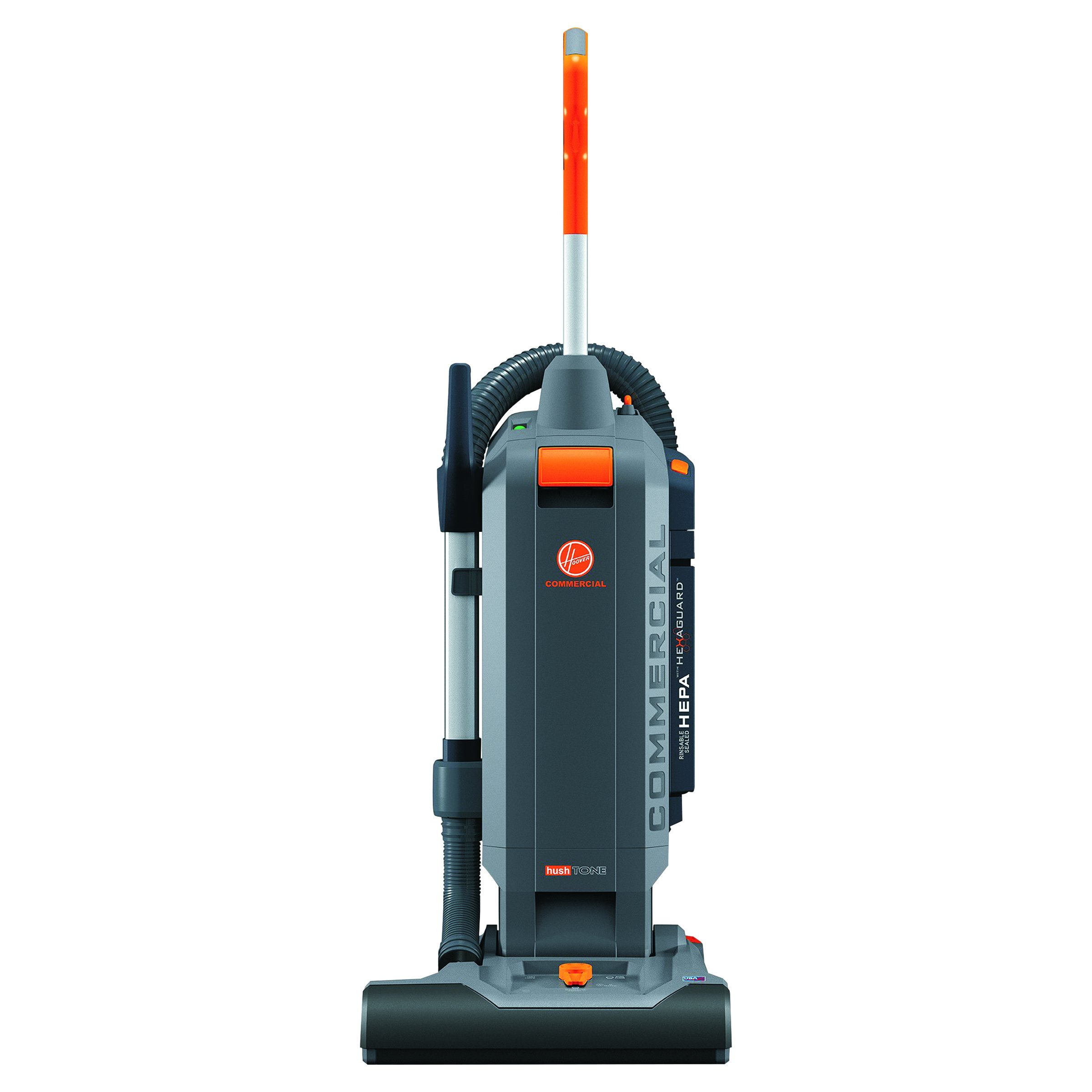 Hoover Commercial CH54015 HushTone Hard-Bagged Upright, 15''