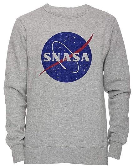 éclatant meilleur grossiste Conception innovante Snåsa (Secret NASA - Logo) Unisexe Homme Femme Sweat-Shirt ...