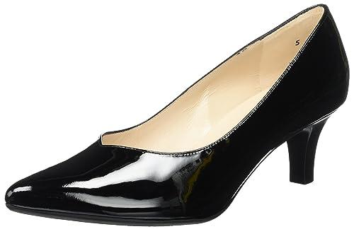 45c294691a Peter Kaiser Women's Heather Closed Toe Heels, Black (Schwarz Lack 010), 5.5