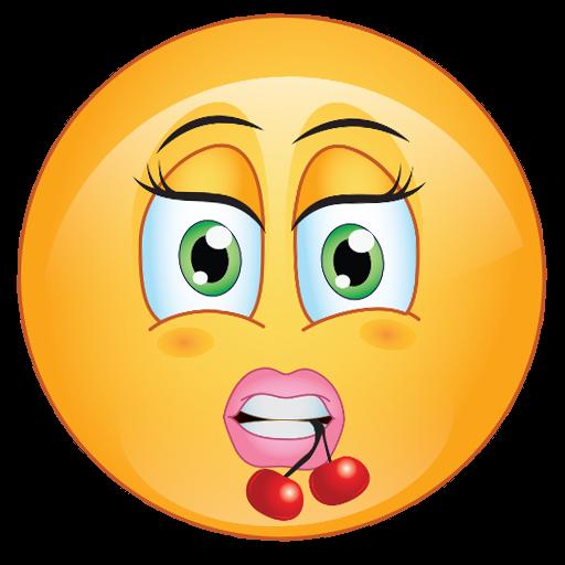 Emoticone la flirt