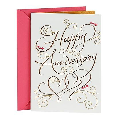 Amazon hallmark signature anniversary greeting card happy hallmark signature anniversary greeting card happy anniversary m4hsunfo