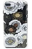Kate Spade New York Floral Case for iPhone 8 Plus/iPhone 7 Plus/iPhone 6 Plus - Black/Gold/White