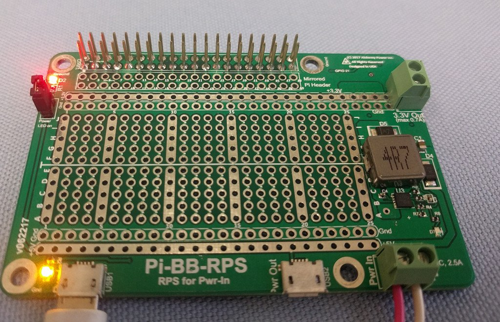 Alchemy Power Inc. Pi-BB-RPS Powered Breadboard with Redundant Power Supply (RPS) and more... by Alchemy Power Inc. TM (Image #9)