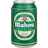 Mahou Clásica - Cerveza, lata 33 cl