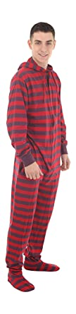 Footed Pajamas Funzee Adult Onesie Romper PJs Jumpsuit - Size on Height (Small)
